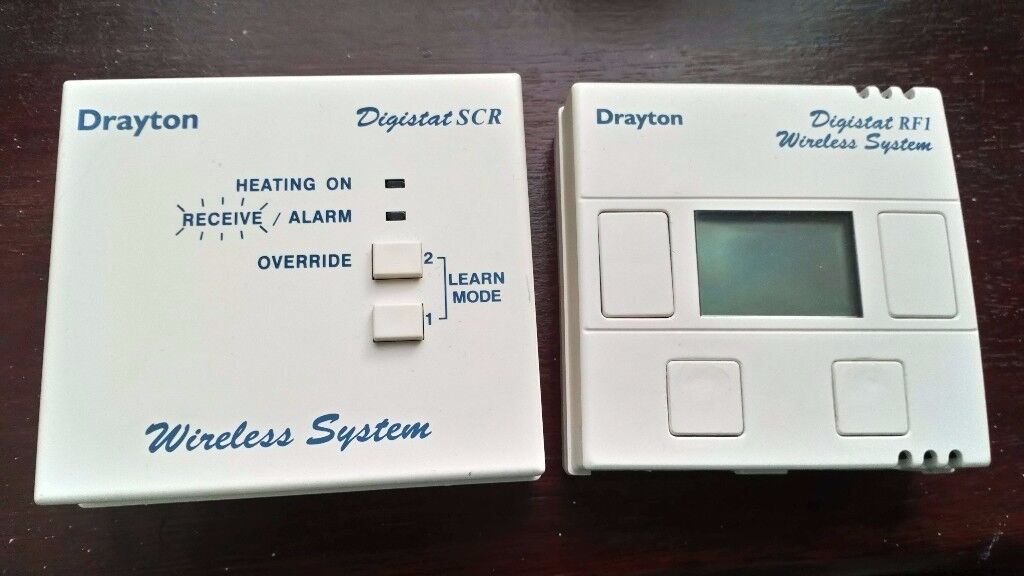 Drayton Digistat Rf1 Thermostat Wireless System Complete