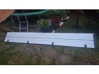 Ford Transit MWB Alloy Tail Gate Drop Back/Sides Board