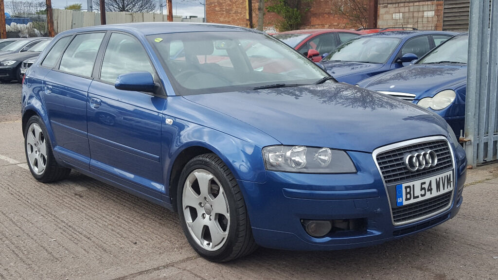 2005 Audi A3 2.0 TDI Sport Sportback 5 Door with Full Service History Hpi Clear