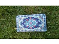 Traditional Turkish Woven Wallet/Purse with zip