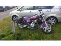 Giantko knight 125 custom bike