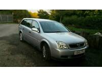 Low mileage vauxhall vectra