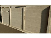 concrete gravel boards,old fashioned,1720mm wide by 240mm height