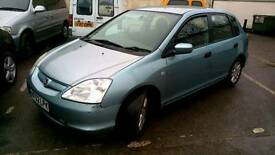 FOR SALE HONDA CIVIC 1.7 DIESEL