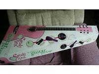 Girls acoustic guitar