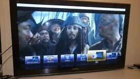 "Panasonic Viera 50"" 3d tv"