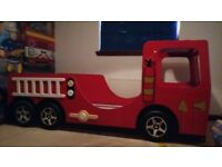 Kids Fire Engine Bed