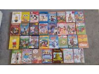 Joblot of Children's DVDs.