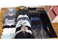 maternity/nursing clothes in very good condition