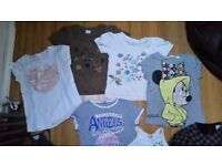 bundle of 30+ summer girls clothes Next, Gap etc age 8-9