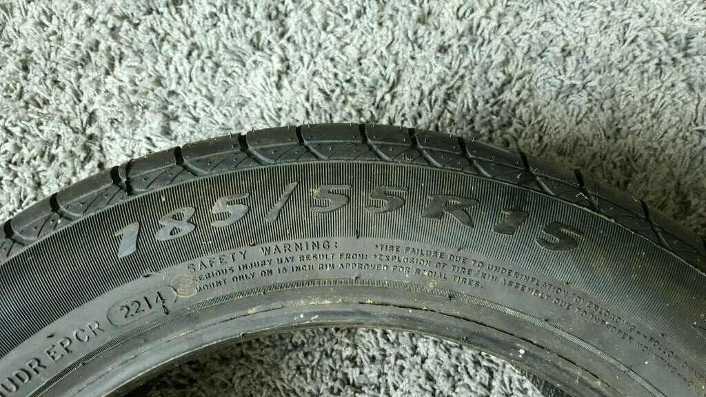 185/55 R15 Brandnew tyre Never been used