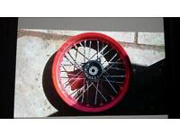 "12 "" pitbike front wheel"