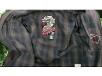 Superdry Motorcycles Womens' Waxed Coat Size XL