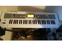 Roland E-09W Keyboard with Foldable Stand and Foot Pedal included