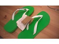 Mens Havaianas Green size 43-44