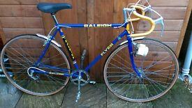 Raleigh Ti Flyer Road Bike