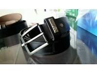 Armani designer leather belt. Men