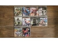 Playstation 3 Games x 10