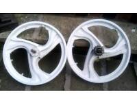 Old Skool BMX wheels