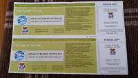 2 tickets to fair at the pne