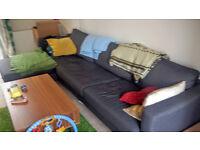 """Ikea """"L"""" Sofa"""