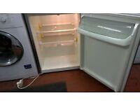 Larder Refidgerator Silver Fridge 60cm wide for sale