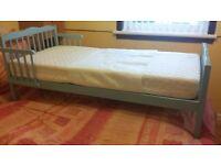 Saplings junior / toddler bed blue £50 ono