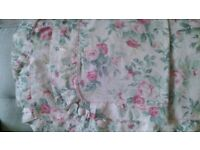 Marks & Spencer Vintage chic single quilt cover matching pillow case 100% cotton