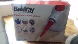 Beldray hand held steam cleaner