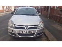 Vauxhall ASTRA, 1.8 petrol, silver