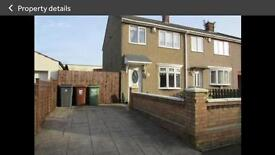 3 Bed House for Rent Tempest Road, King Owsy, Hartlepool