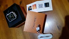 new K8 Wi-Fi Smart Bluetooth Wrist Watch with Phone (own SIM Card) Black