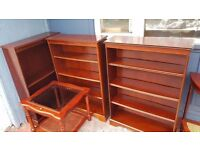 Real Wood Bookshelves in Good Condition
