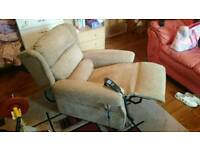 Rise and recline dual motor chair