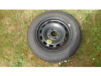 WHEEL AND TYRE 175/65R14 82T originally off ford fusion/fiesta 2004
