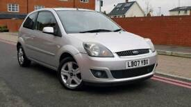 2007 Ford Fiesta 1.25 Zetec 3Dr+Full Service History+Low mileage+Drives Well