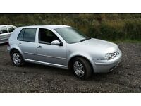 vw golf gttdi 2002 MOT until march 2017 186k miles