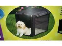 Lightweight Pet Port-A-Crate Portable Kennel