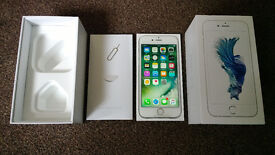 BRAND NEW APPLE IPHONE 6S 64GB SILVER NETWORK UNLOCKED SMARTPHONE! ONLY £400 !