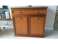 Sutcliffe Trafalgar Matching Solid Wood Sideboard & TV Unit