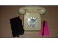 Vintage 1970s Telephone, Ready To Use