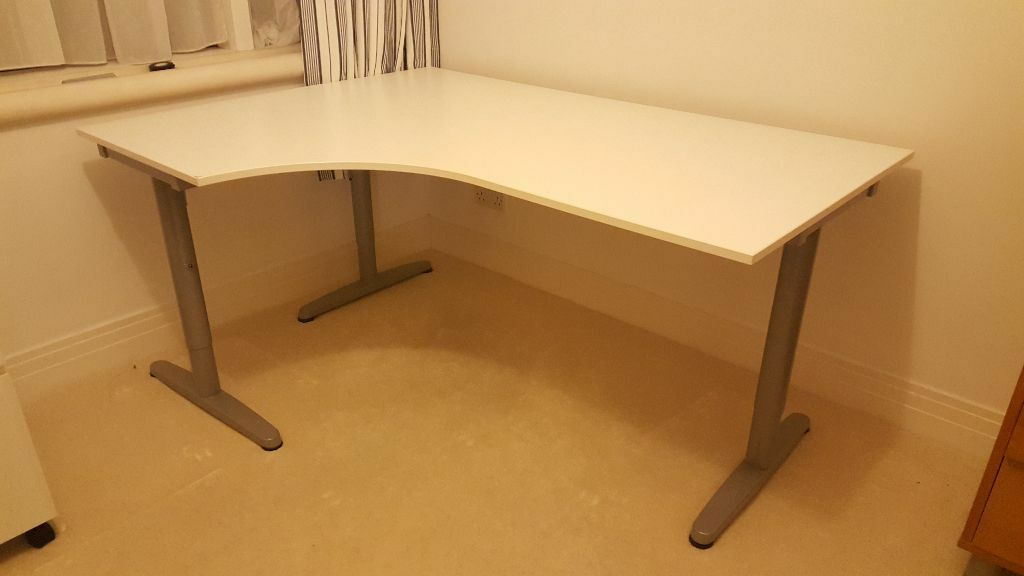 Ikea Bekant Corner Desk In Hertford Hertfordshire Gumtree