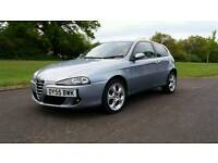 2005 Alfa Romeo 147 T Spark Lusso just 64500 years mot test Px considered