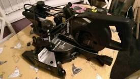 Evolution Rage 210mm Sliding Mitre Saw