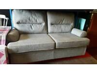 Ex-display 3 Seater Berkley Silver Sofa
