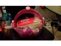 Hamster or mouse set up habitrail pink