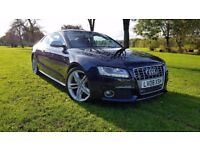 Audi S5 4.2 FSI Quattro 3dr STUNNING+FSH+NAV+RED LEATHER