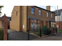 3 bed semi-detached to rent