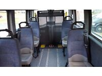 *** RENAULT MASTER 9 SEATER MINIBUS WITH WHEELCHAIR LIFT QUICK SALE WANTED ***