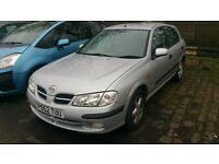 AUTOMATIC ALMERA 1.8 PETROL 5 DOOR,CHAIN DRIVEN ENGINE,EXCELLENT RUNNER